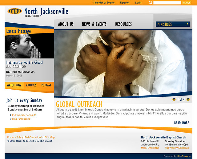 North Jacksonville Baptist Church - Home Page