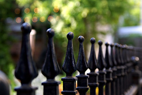 Wrought Iron Bokeh