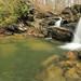 Cheaha Falls, Cheaha Creek, Talladega National Forest, Clay County, Alabama 1 by Alan Cressler