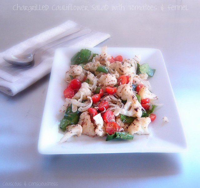 Chargrilled Cauliflower Salad 4