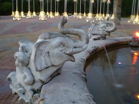 Fountain at FantaSea