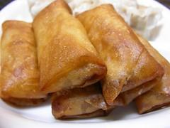 dim sum food, meal, taquito, lumpia, egg roll, nem rã¡n, spring roll, food, dish, cuisine,