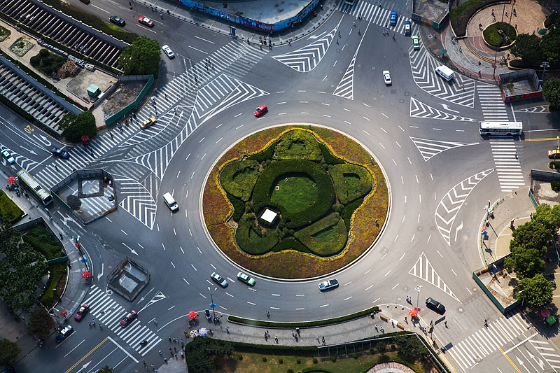 Roundabout - Shanghai, China