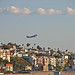 Lufthansa 747-400 taking off from LAX