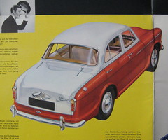 Riley 1.5 German brochure