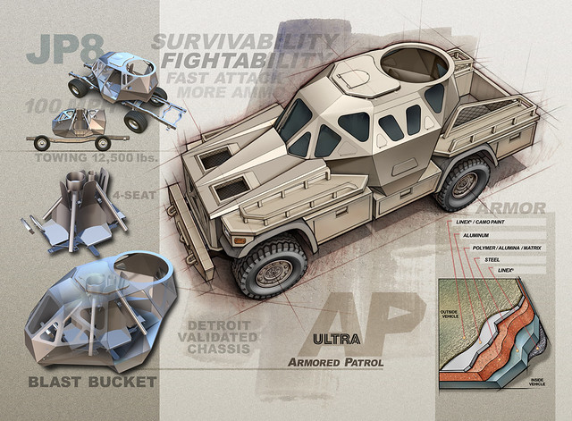 Ultra AP Armored Vehicle (Concept-Experimental)