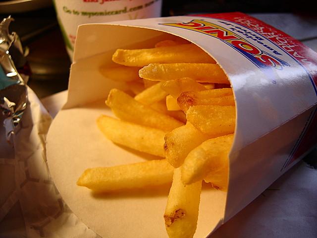 Sonic Fast Food Website