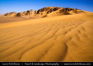 Yemen - Sand and Rocks of The Empty Quarter Desert - Rub' al Khali