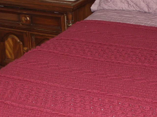CROCHETED ARAN AFGHAN | - Welcome to the Craft Yarn Council and