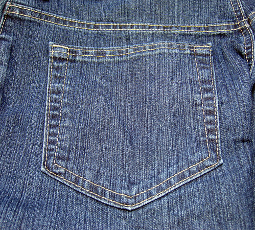Jeans pocket, by Dvortygirl