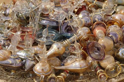 Objetos de Cristal artesanales pueblo nubio de aswan - 2474561126 1d6f11f855 - Pueblo Nubio de Aswan, Restos de aquella antigua cultura