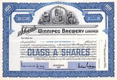 Shea's Brewery Bond
