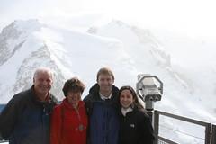 Dad, Mom, Ryan and Kristen - Aiguille du Midi (Mont Blanc), Chamonix