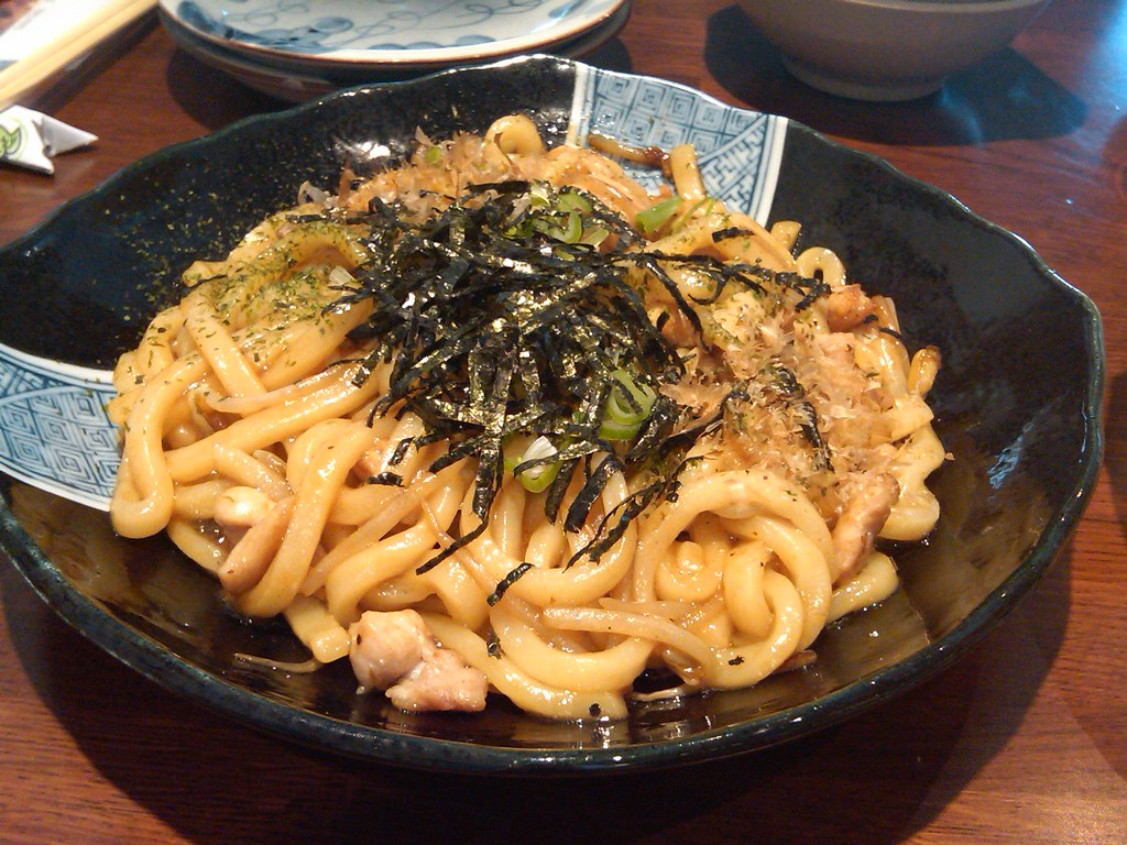 Chicken Yaki Udon @ Sushi House