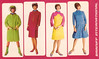 Vintage Braniff Flight Attendant Uniform