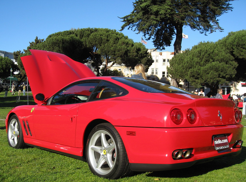 2001 ferrari 550 maranello images pictures and videos. Black Bedroom Furniture Sets. Home Design Ideas