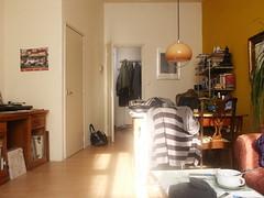 autumn sunny room