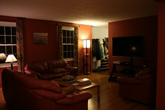 Remodeled Living Room (from dining room)