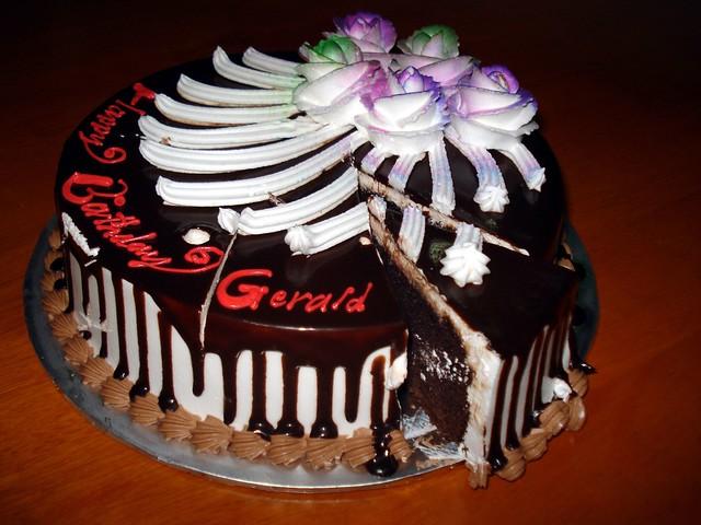 Happy Birthday Gerry Cake