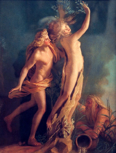 Apollo and Daphne.  JEAN ETIENNE LIOTARD
