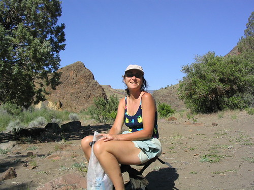 margo, raft trip, john day river, oregon