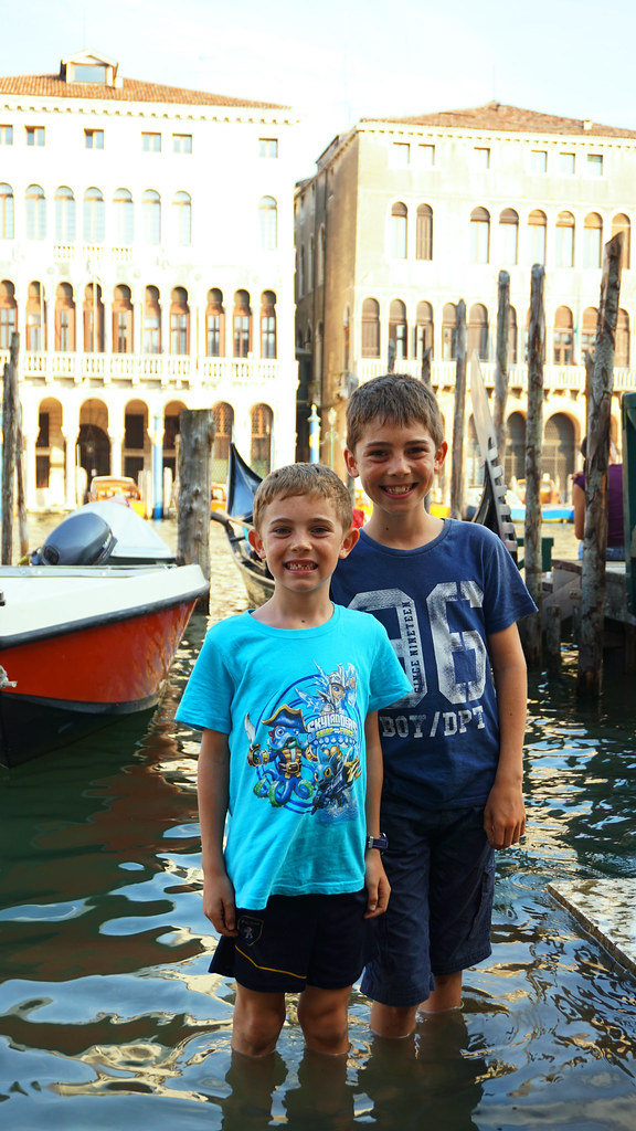 brother with Canal grande