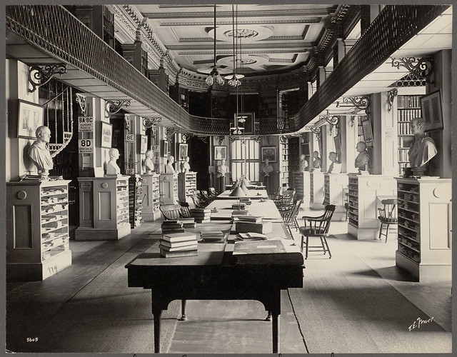 Boston Athenaeum. History section