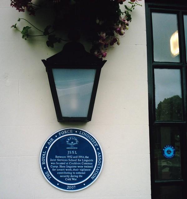 JSSL Blue plaque