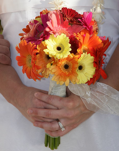 Fall Gerbera Daisy Bouquet Fall Gerber Daisy Bride