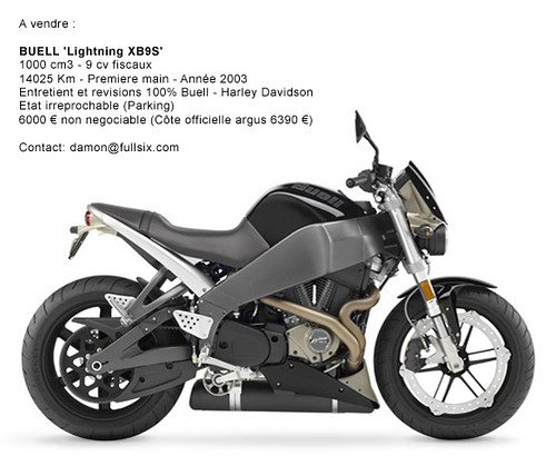 American muscle bike for sale