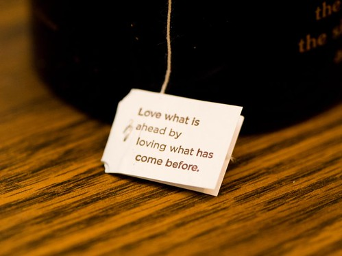 Yogi Tea Message