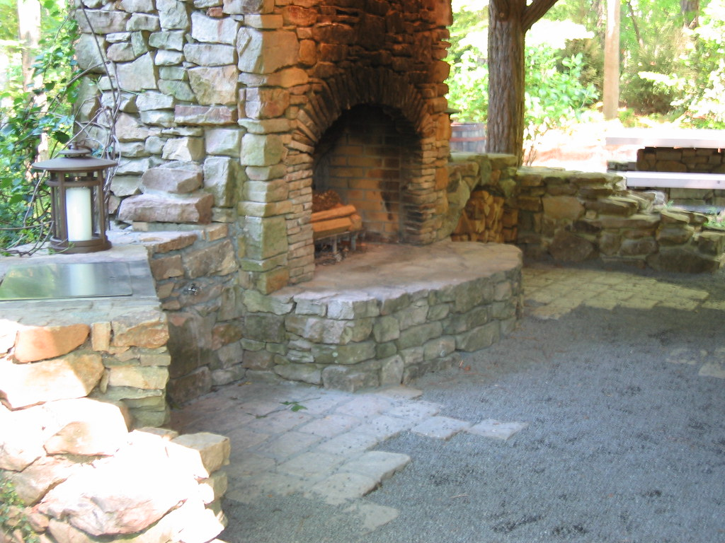 Outdoor Kitchen Fireplace Atlanta Botanical Garden Tour 20 Flickr