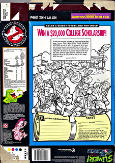 "Ralston :: ""SLIMER AND THE REAL GHOSTBUSTERS""  // Ralston :: ""SLIMER AND THE REAL GHOSTBUSTERS""  // ""WIN A $20,000 COLLEGE SCHOLARSHIP-""  i (( 1990 ))  ii (( 1990 ))"