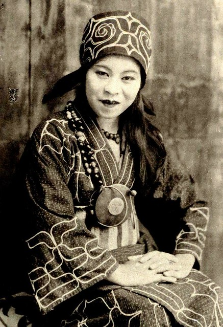 THE AINU BABE OF OLD HOKKAIDO -- Japanese Citizen, but NOT