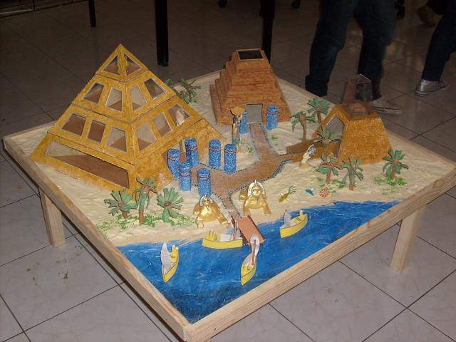 maqueta egipto grupo n 1 flickr   photo sharing