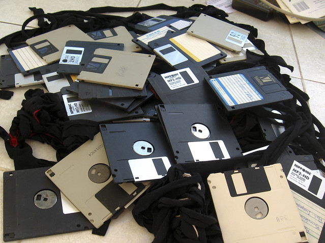floppy disks for breakfast