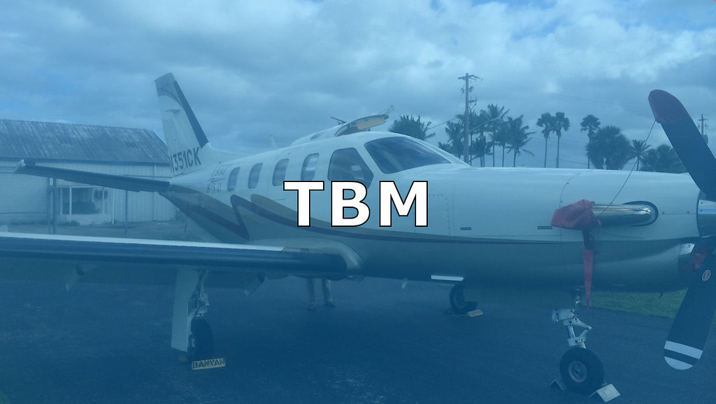 TBM AIRCRAFT INVENTORY