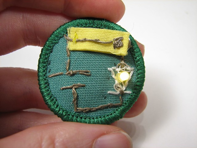 Kayaking merit badge pamphlet