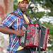 Gerard Delafose and the Zydeco Gaters at 2011 Breaux Bridge Crawfish Festival