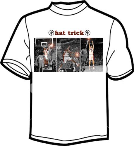 Raptors t-shirt contest - hat trick