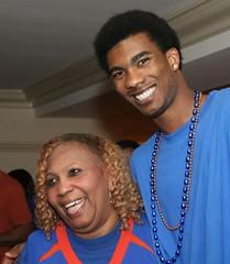 Corey Brewer & Mom