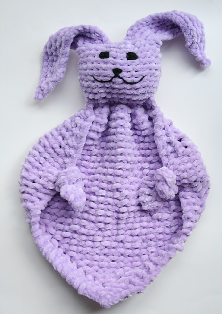 Free Bunny Blanket Buddy Pattern - Hot Girls Wallpaper