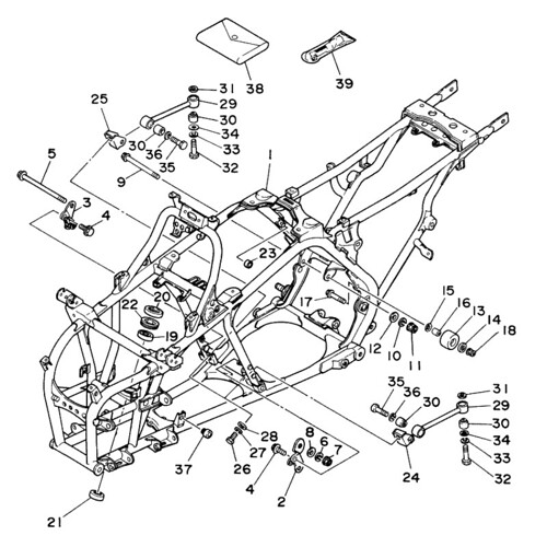 Yamaha Banshee Parts Diagram