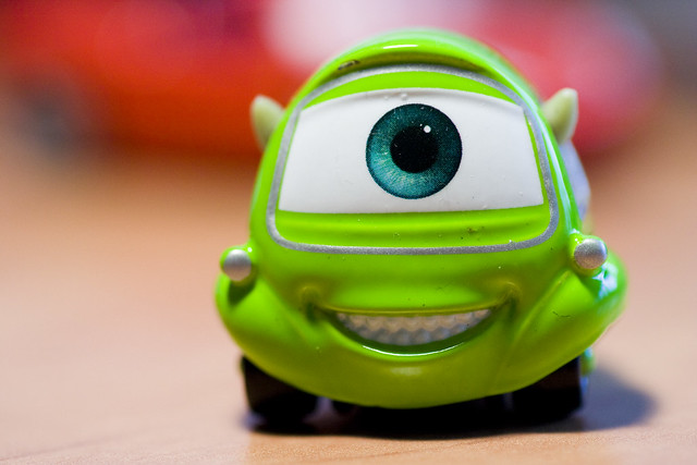 Pixar : Robert Razowski, aka Bob