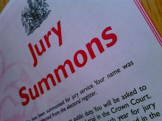 jury duty summons