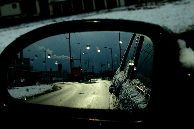 a frosty drive