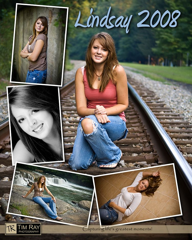 Looking for senior portrait advice with templates or for Senior photo collage templates