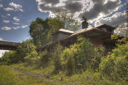 Abandoned Train Station - Belle Mead, NJ