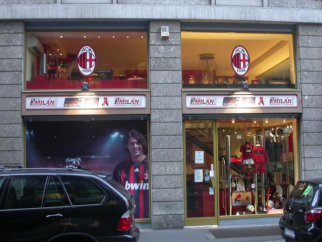 Ac Milan Shop