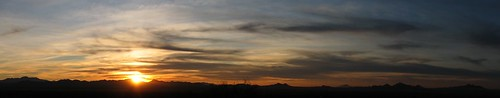 sunset arizona tucson pano saguaronationalpark signalhill saguaronationalparkwest